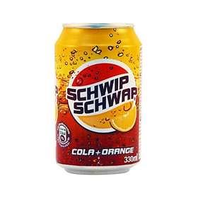 Schwip Schwap Cola + Orange Burk 0,33l