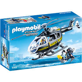 Playmobil City Action 9363 Insatshelikopter
