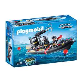 Playmobil City Action 9362 Insatsbåt