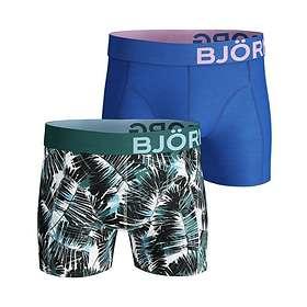 Björn Borg Summer Palm Cotton Stretch Shorts 2-Pack