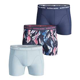 Björn Borg Digi Leaf Essential Shorts 3-PACK