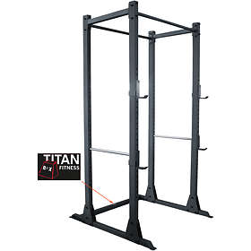 Titan Fitness Box Power Square Case Rack Chin Up