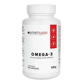 SmartSupps Omega-3 300mg 130 Kapslar