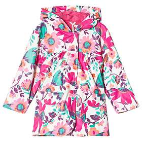 Hatley Pink Tortuga Bay Floral Raincoat (Jr)