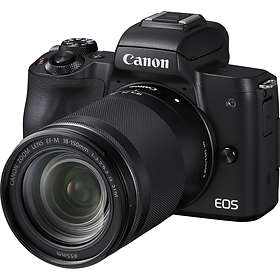 Canon EOS M50 + 18-150/3,5-6,3 IS STM