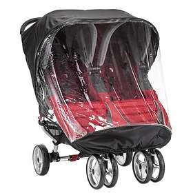 Baby Jogger City Mini Dobbel Regntrekk