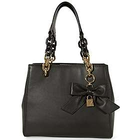 8f75d396459a3f Find the best price on Michael Kors Cynthia Small Satchel Bag ...