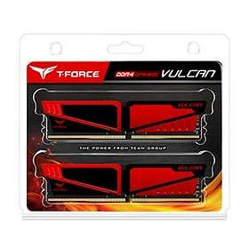 Team Group T-F Vulcan Red DDR4 2400MHz 2x8GB (TLRED416G2400HC16DC01)