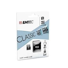 EMTEC Classic microSDHC Class 10 8GB