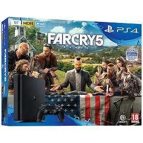 Sony PlayStation 4 Slim 1TB (inkl. Far Cry 5)
