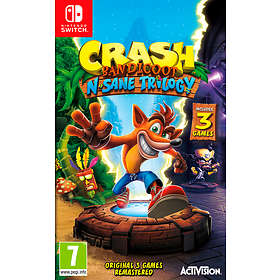 Crash Bandicoot N-Sane Trilogy (Switch)