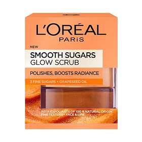 L'Oreal Smooth Sugar Glow Face & Lips Scrub 50ml