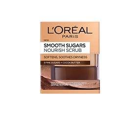 L'Oreal Smooth Sugar Nourish Face & Lips Scrub 50ml