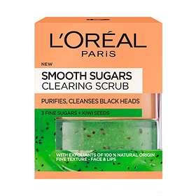 L'Oreal Smooth Sugar Clear Face & Lips Scrub 50ml