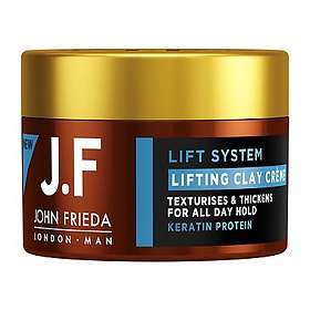 John Frieda J.F Man Lift System Lifting Clay Creme 90ml