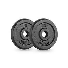Capital Sports Ipb 30mm Weight Plates 2x2,5kg