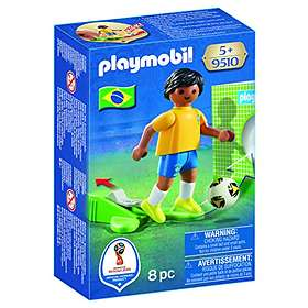 Playmobil 2018 FIFA World Cup Russia 9510 Landslagsspelare för Brasilien