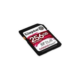 Kingston Canvas React SDXC Class 10 UHS-I U3 V30 A1 100/80MB/s 256GB
