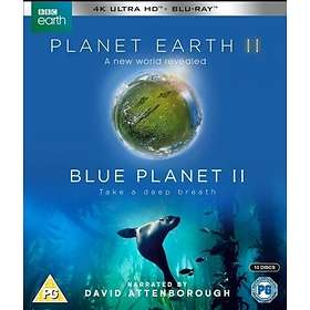 Planet Earth II + Blue Planet II - Boxset (UHD+BD) (UK)