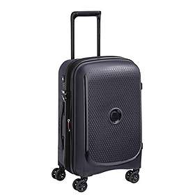 Delsey Belmont Plus 4 Double Wheels Expandable Cabin Trolley Case 55cm