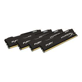 Kingston HyperX Fury Black DDR4 2933MHz 4x8GB (HX429C17FB2K4/32)