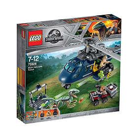En 75928 Jurassic Hélicoptère Blue La World Poursuite Lego edoWCxQrB