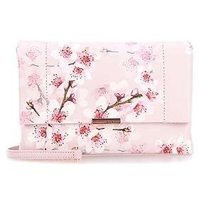 73b578b1d5a Find the best price on Ted Baker Jayy Soft Blossom Leather Crossbody ...