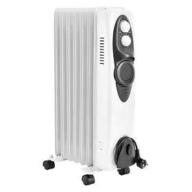 Gnosjö Klimatprodukter Oljelamellradiator 230V 1500W (650x360)