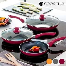 Cook D'Lux Stekpanneset 3 delar