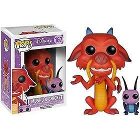 Funko POP! Disney Mulan Mushu & Cri-kee
