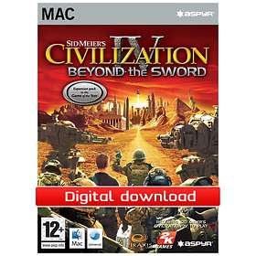 Civilization IV Expansion: Beyond the Sword (Mac)