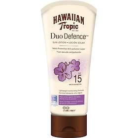 Hawaiian Tropic Duo Defence Sun Lotion SPF15 180ml