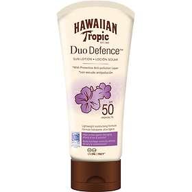 Hawaiian Tropic Duo Defence Sun Lotion SPF50 180ml
