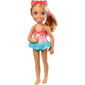 Barbie Club Chelsea Swimming Doll DWJ34