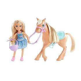 Barbie Club Chelsea Doll & Pony DYL42