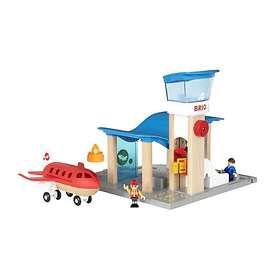 BRIO Flygplats Med Flygplan 33883