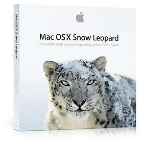 Apple Mac OS X Snow Leopard 10.6 Sve (Uppgradering)