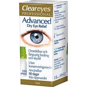 Clear Eyes Advanced Dry Eye Relief Drops 10ml