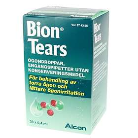 Alcon Bion Tears Eye Drops 28x0.4ml