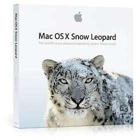Bild på Apple Mac OS X Snow Leopard 10.6 Family Pack Sve (Uppgradering) från Prisjakt.nu