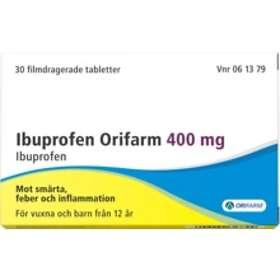 Orifarm Ibuprofen 400mg 30 Tabletter