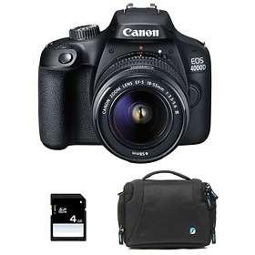 Canon EOS 4000D + 18-55/3,5-5,6 III