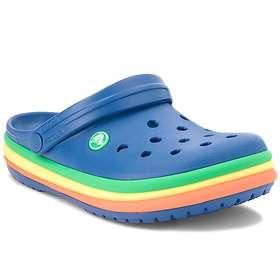Crocs Rainbow Band Clogs (Unisex)