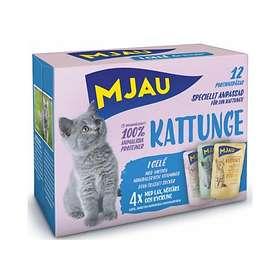 Mjau Cat Pouches Kitten 12x0,085kg