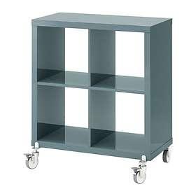 IKEA Kallax Hylla Med Dörrar