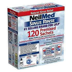 NeilMed Sinus Rinse Premixed Pulver 120pcs