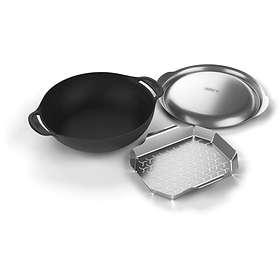 Weber Gourmet BBQ System Woksett Med Damphylle