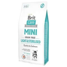 Brit Care Adult Mini Grain Free Light & Sterilised 7kg