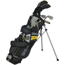 Wilson 15 Profile MD Junior (8-11 Yrs) with Carry Stand Bag