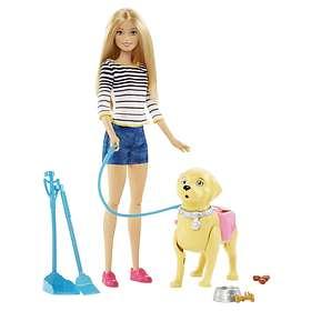 Barbie Walk & Potty Pup Doll DWJ68